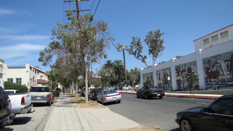 Straßen in Santa Barbara