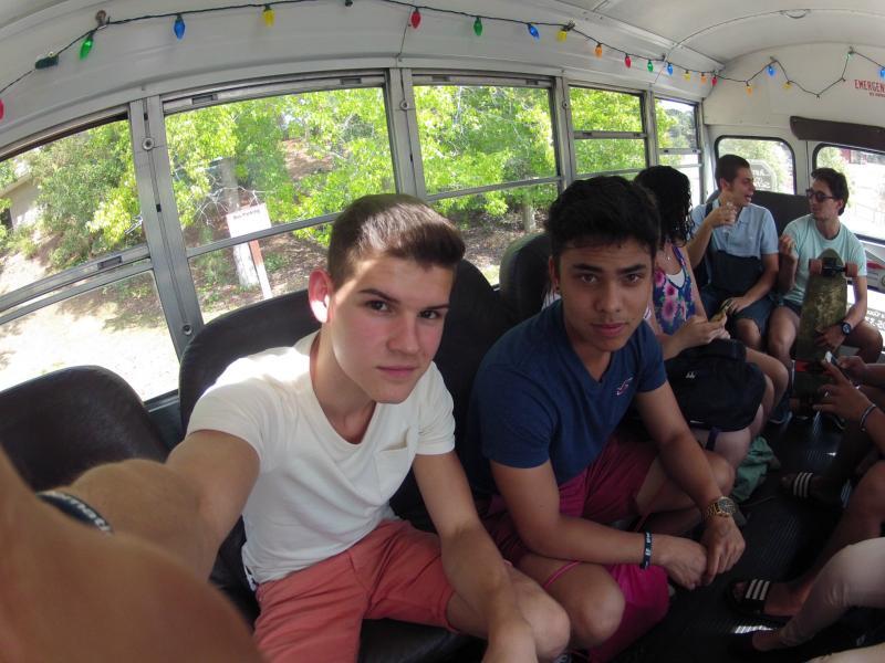 Schulbus fahren