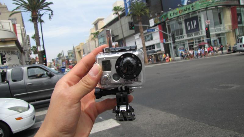 Downtown LA mit GOPRO