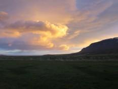 allerschönster Sonnenaufgang heute morgen