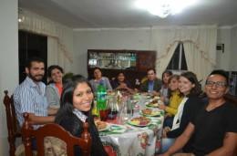 Die Familie beim Essen :)