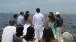 Hochzeit auf der Yacht :)