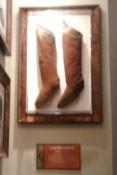 Stiefel von Jimi Hendrix im Hard Rock Café Key West